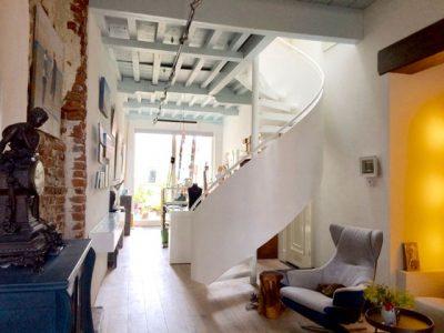 Het fraaie en rustgevende interieur